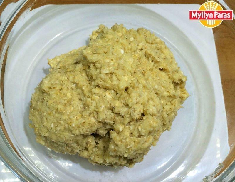 тесто для овсяного печенья без муки из крупных овсяных хлопьев