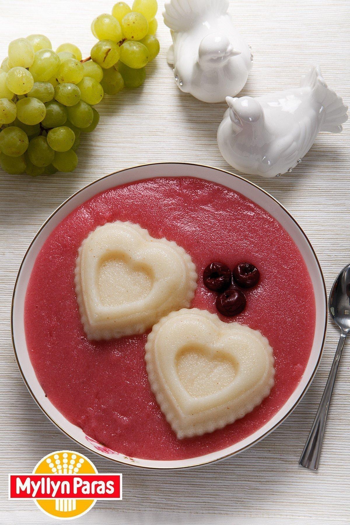 рецепт манной каши на молоке с вишнями