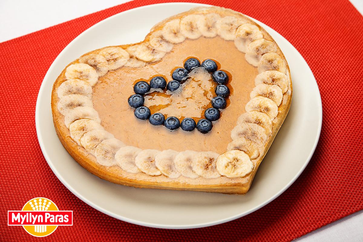 Что приготовить на День Святого Валентина - Банановый пирог