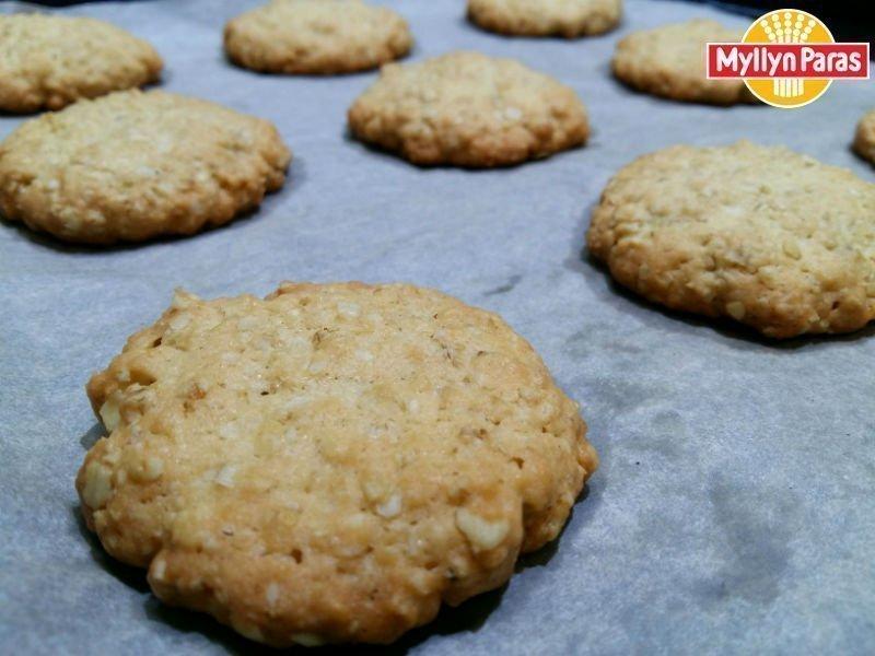 овсяное печенье на подсолнечном и сливочном масле