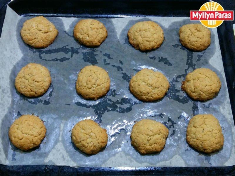 Овсяное печенье желтки