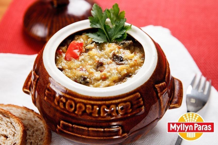 Мясо в горшочках с рисом в духовке пошаговый рецепт