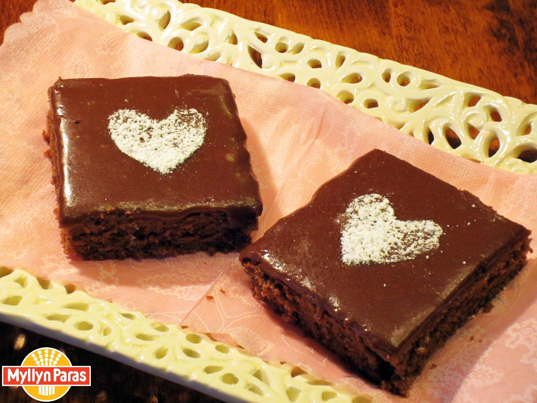 Рецепты ко Дню Святого Валентина - Шоколадный пирог